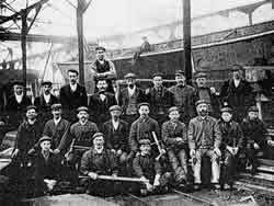 Shipyard workers c1890's