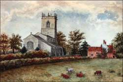 All Saints Church 1881 - click to enlarge