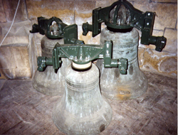 Restored Bells before refitting - click to enlarge
