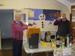 Rex and Tony doing the bottle stall