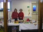 Carole and Christine on bric-a-brac
