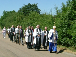 Procession returning to Church