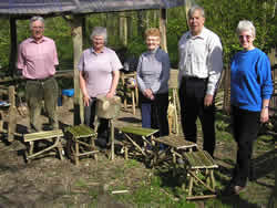 History Group Rustic Stool Making Course Treswell Woods