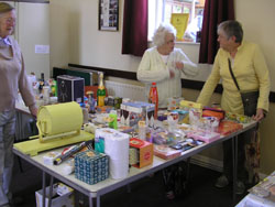 coffee morning - tombola