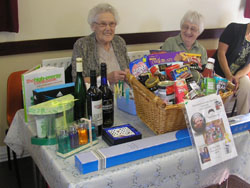 coffee morning - raffle food hamper