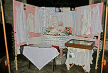 baptismal display