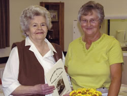 Mrs Mason (left) and Freda Proudley