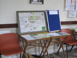 Display by the Youth members