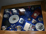 History Group display of commemorative items