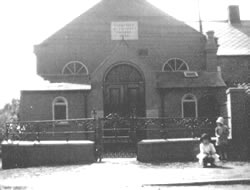 Early photo of Chapel - date unknown