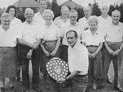 Gainsborough Standard Bowls League Winners 1990