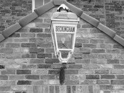 Original Beckingham Station Lamp