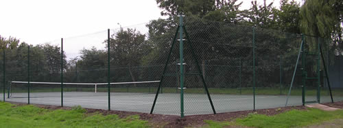 Refurbished Tennis Court now a Multi Purpose Activity Area