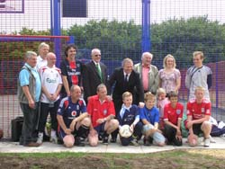 John Mann MP, MUGA Committee Members, Sponsor Representatives and Players
