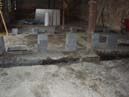 Footings for internal walls